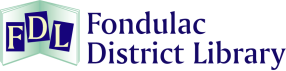 Fondulac District Library logo