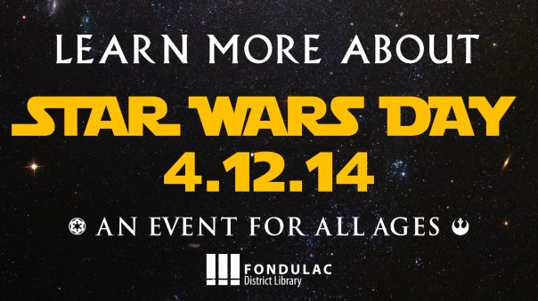forward for star wars day 2014